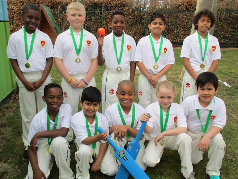 Members of our Cricket Team