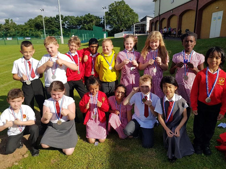 Younger children in our Multi-Sports Club