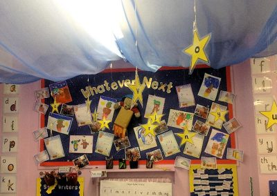 Reading display in EYFS