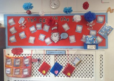Reading display in Key Stage 1