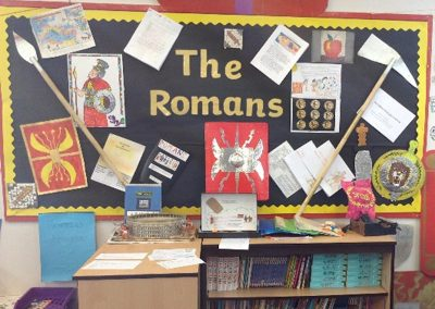 Reading display in Key Stage 2