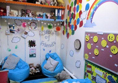 Rainbow Room safe area