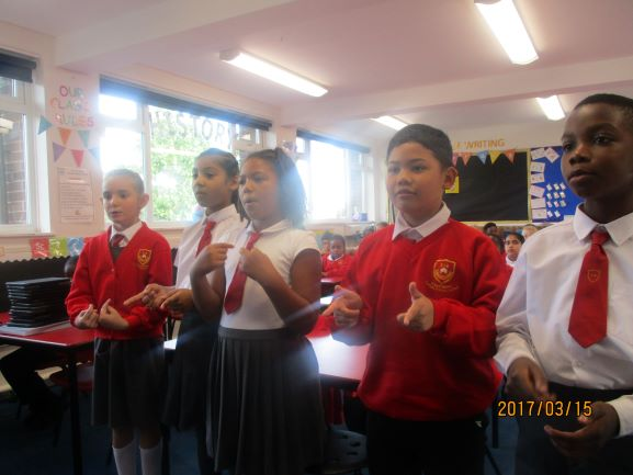 Year 4 Prayer Service