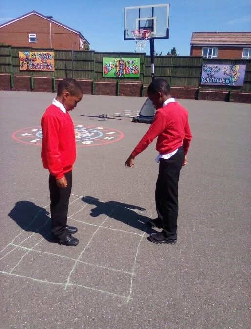 Right, left, forwards, backwards . . . Y2 are learning about directions