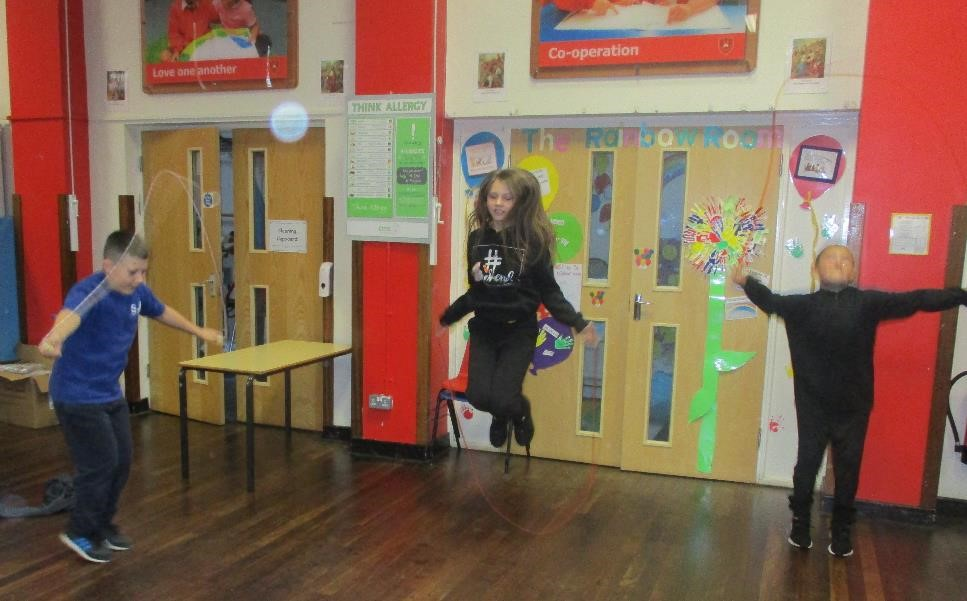 Virtual School Games – Skipping Competition
