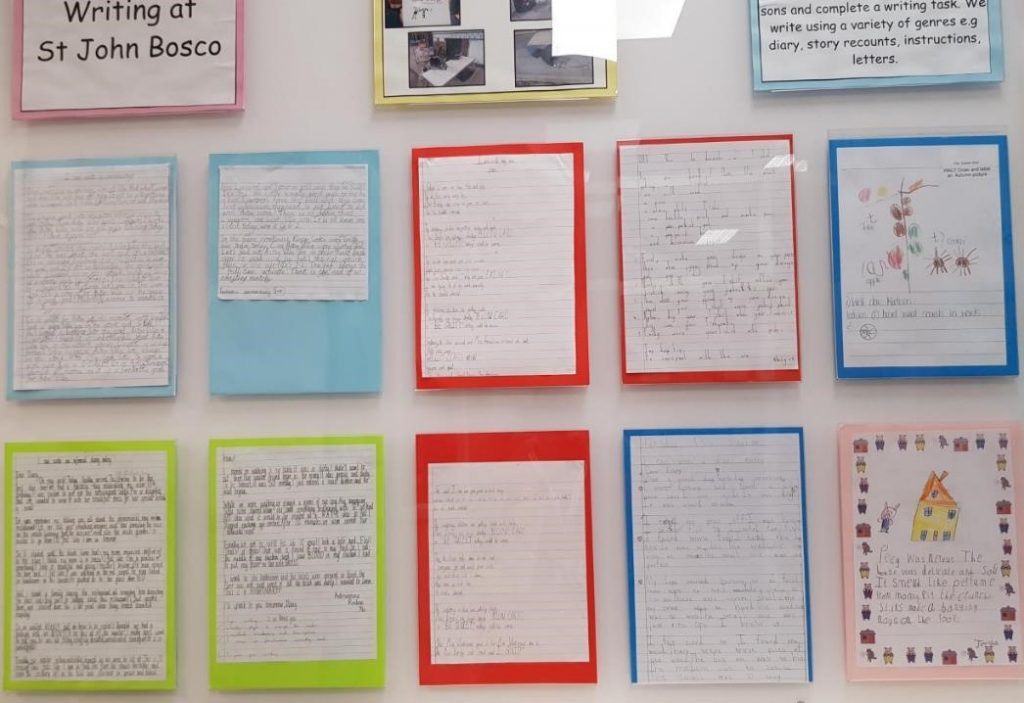Our Star Writers' board