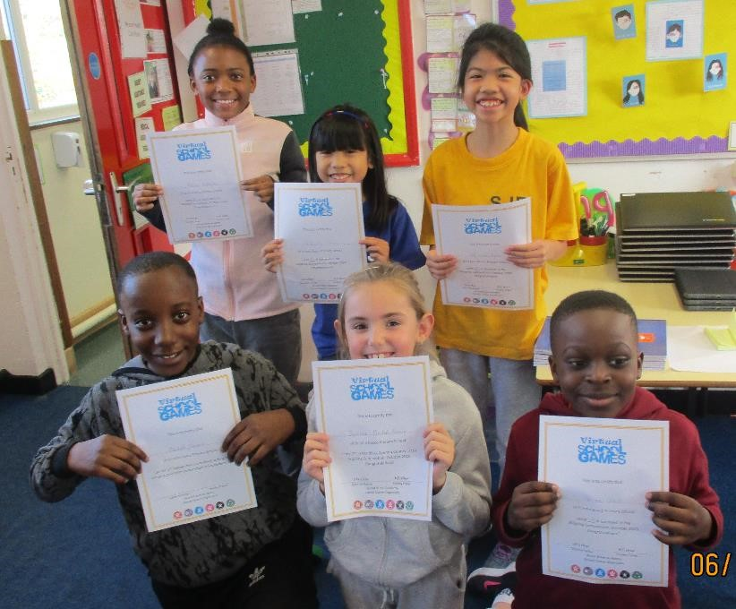 Our certificate winners
