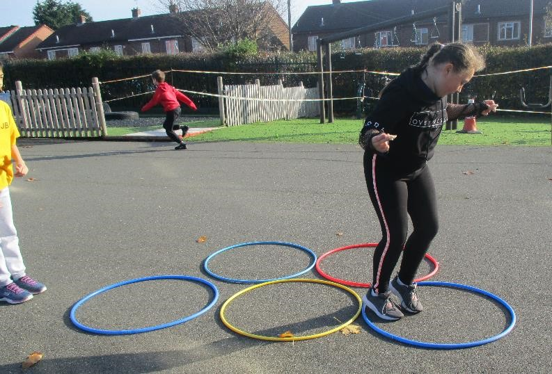 Speed bounce hoops