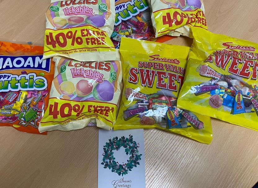 Sweet from Hilltop staff