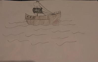 Drawing Pirate Pete's ship