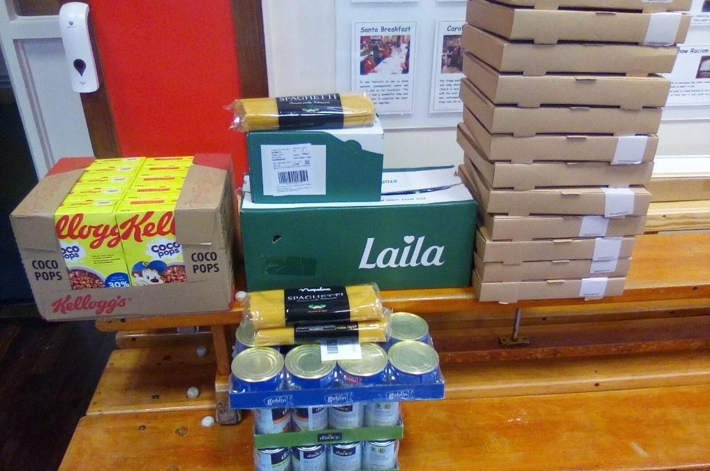 Morrisons food donation