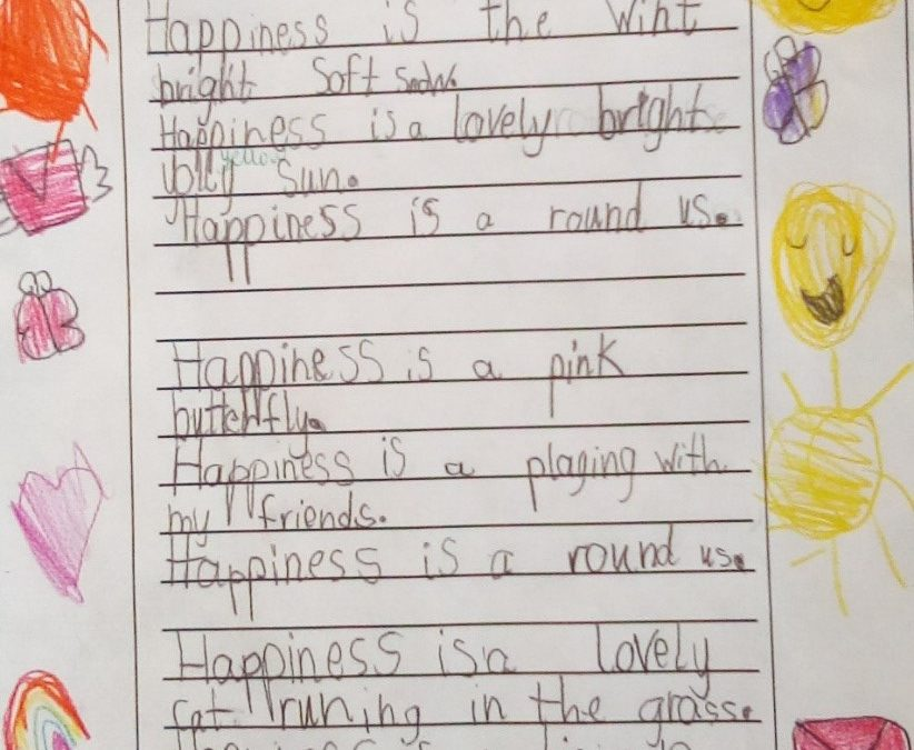 Year 1 Happiness Poems