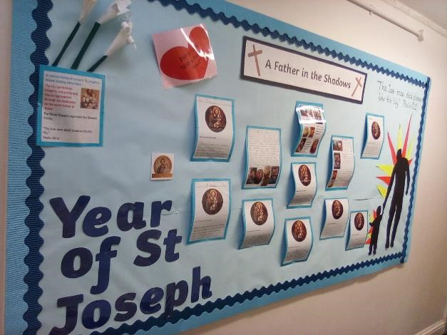 The Feast of St Joseph – Friday 19th March