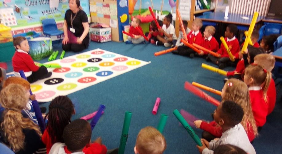 Year 1 Boomwhacker lesson