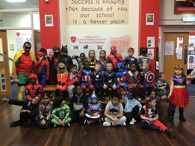 Year 2 Superheroes Day